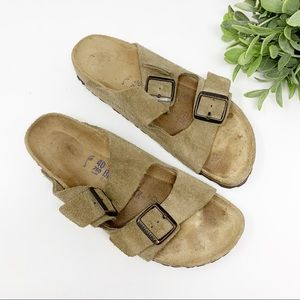 Birkenstock Arizona sandals light brown 40 N